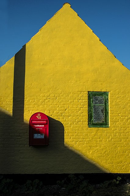 Dragor House with Post Box