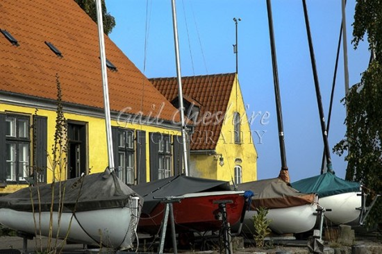 Four Boats Dragor Harbor