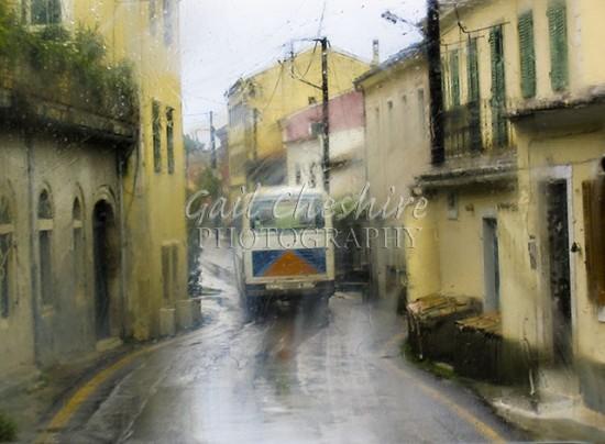 Rainy Day in Corfu